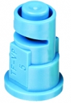 TF-VP5, SIZE 5 TURBO FLOODJET TIP NOZZLE POLY LIGHT BLUE