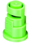 TF-VP7.5, SIZE 7.5 TURBO FLOODJET TIP NOZZLE POLY LIGHT GREEN