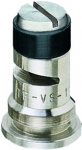 TF-VS10, SIZE 10 TURBO FLOODJET TIP NOZZLE POLY BLACK