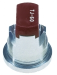 TJ60-11005VS, SIZE 05 110° TWINJET SPRAY TIP NOZZLE STAINLESS STEEL BROWN (CALL OR EMAIL FOR REGULAR PRICING)