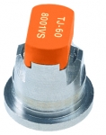TJ60-8001VS, SIZE 01 80° TWINJET SPRAY TIP NOZZLE STAINLESS STEEL ORANGE (CALL OR EMAIL FOR REGULAR PRICING)