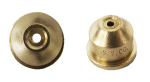 TP0004, SIZE 04 STREAMJET SOLID STREAM TIP NOZZLE BRASS (CALL OR EMAIL FOR REGULAR PRICING)