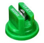 TP80015-VS, SIZE 015 80° FLAT FAN SPRAY TIP NOZZLE STAINLESS GREEN
