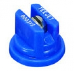 TP8003-VS, SIZE 03 80° FLAT FAN SPRAY TIP NOZZLE STAINLESS BLUE