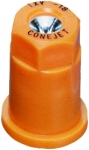 TX-VS18, SIZE 18 TX CONEJET HOLLOW CONE SPRAY TIP NOZZLE STAINLESS ORANGE