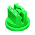 XR110015-VP, SIZE 015 110° EXTENDED RANGE FLAT SPRAY TIP NOZZLE POLY GREEN