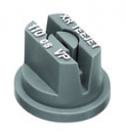 XR11006-VP, SIZE 06 110° EXTENDED RANGE FLAT SPRAY TIP NOZZLE POLY GREY