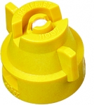 XRC11002-VK, SIZE 02 110° EXTENDED RANGE FLAT SPRAY TIP & CAP NOZZLE CERAMIC YELLOW (CALL OR EMAIL FOR REGULAR PRICING)