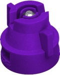 XRC110025-VS, SIZE 025 110° EXTENDED RANGE FLAT SPRAY TIP & CAP NOZZLE STAINLESS VIOLET (CALL OR EMAIL FOR REGULAR PRICING)