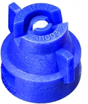XRC11003-VK, SIZE 03 110° EXTENDED RANGE FLAT SPRAY TIP & CAP NOZZLE CERAMIC BLUE (CALL OR EMAIL FOR REGULAR PRICING)