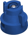 XRC11003-VS, SIZE 03 110° EXTENDED RANGE FLAT SPRAY TIP & CAP NOZZLE STAINLESS BLUE (CALL OR EMAIL FOR REGULAR PRICING)