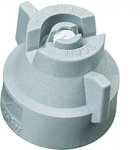 XRC11006-VK, SIZE 06 110° EXTENDED RANGE FLAT SPRAY TIP & CAP NOZZLE CERAMIC GREY (CALL OR EMAIL FOR REGULAR PRICING)