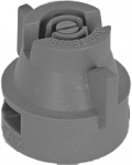 XRC11006-VP, SIZE 06 110° EXTENDED RANGE FLAT SPRAY TIP & CAP NOZZLE POLY GREY (CALL OR EMAIL FOR REGULAR PRICING)