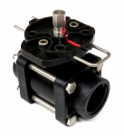 "56601-2-1, 1"" FPT VALVE ASSY ONLY FOR 344 SERIES WITH POLY BALL"