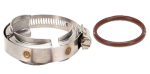 55245-75, 75 SERIES STAINLESS STEEL WORM GEAR CLAMP & O-RING