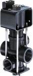 "AA144A-1-3, 144A SERIES 3-WAY ELECTRIC SOLENOID VALVE 3/4"" FPT INLETS X 1/2"" FPT OUTLETS"